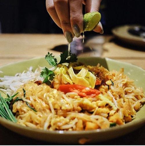 Salah satu menu di Tom Tom Kitchen (foto: Instagram/aaronhandajani)