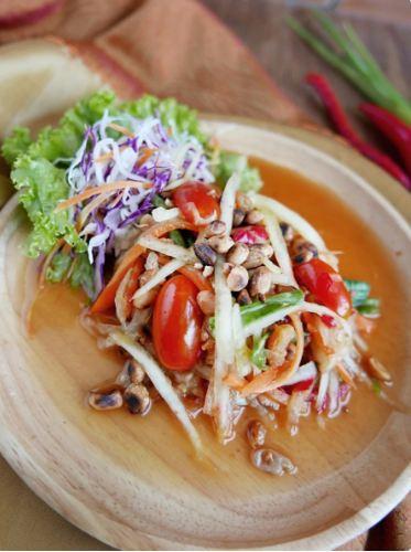 Salah satu menu di Larb Thai Cuisine (foto: Zomato)
