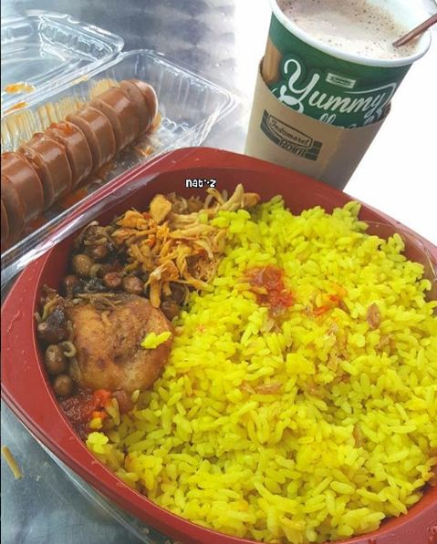 Nasi kuning (Foto: Instagram/@natalia82wijaya)