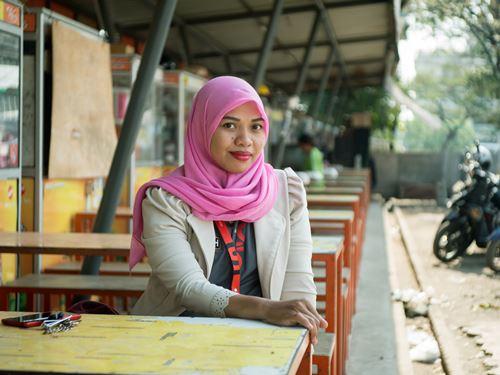 Nur Aliyah (foto: Harits Prabowo)