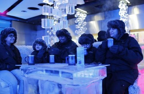 Ice Restaurant, Uni Emirat Arab (foto: pouted.com)